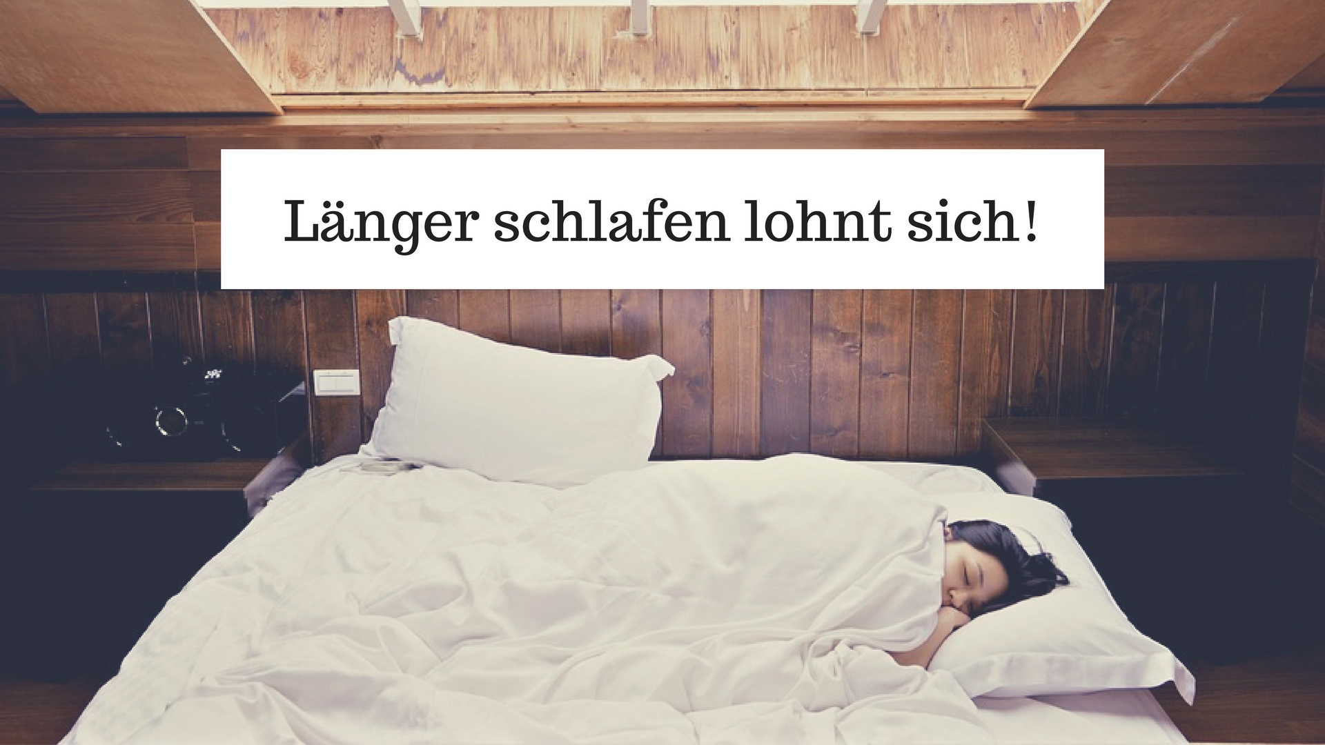 Länger schlafen lohnt sich: Warum ausreichend Schlaf gut für Karriere und Wohlbefinden ist
