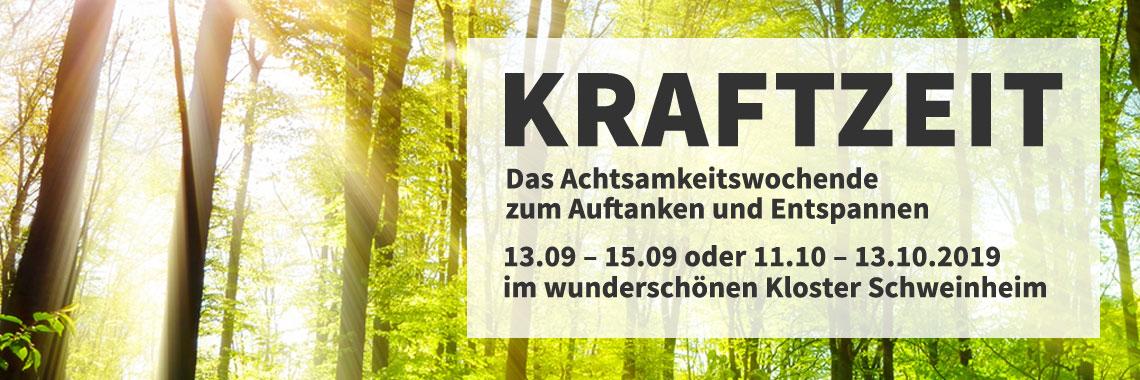 Melanie Kohl – Kraftzeit Kloster Schweinheim